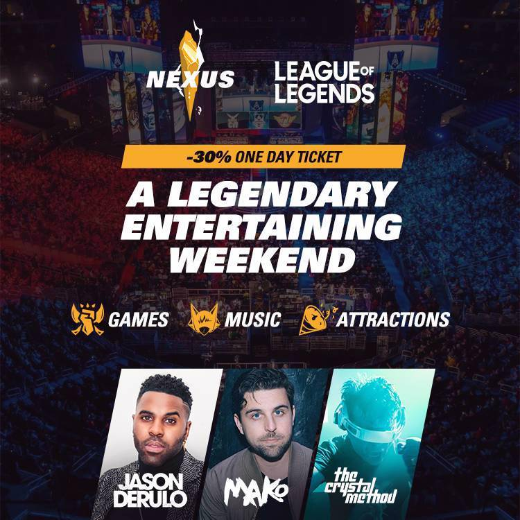 League of Legends Nexus Arabia