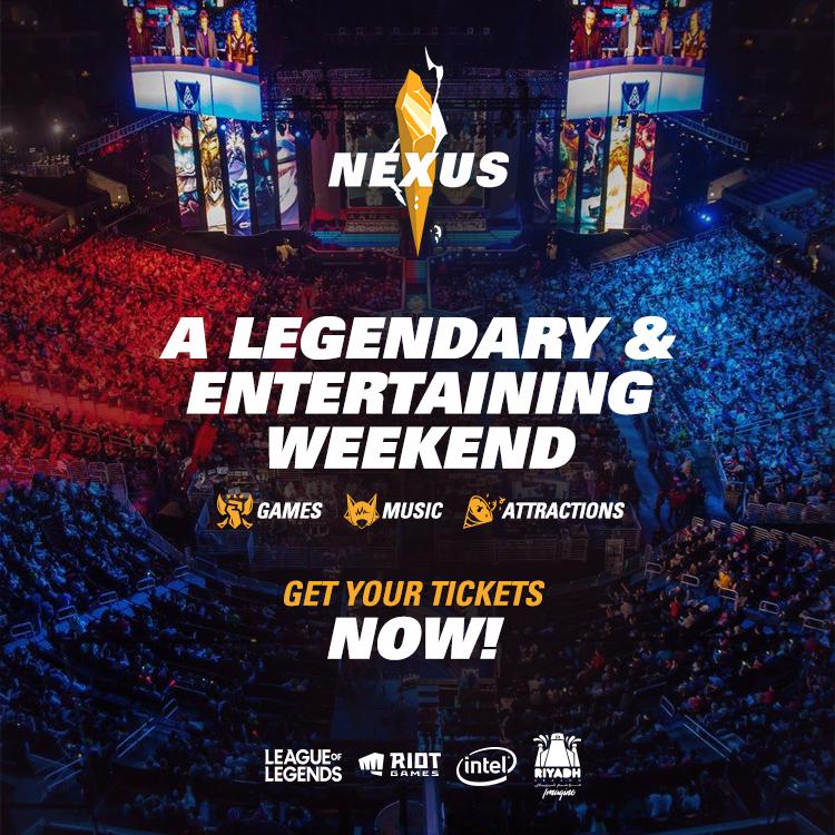 League of Legends Nexus Arabia